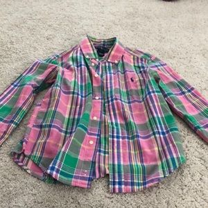 Boys Ralph Lauren dress button down shirt
